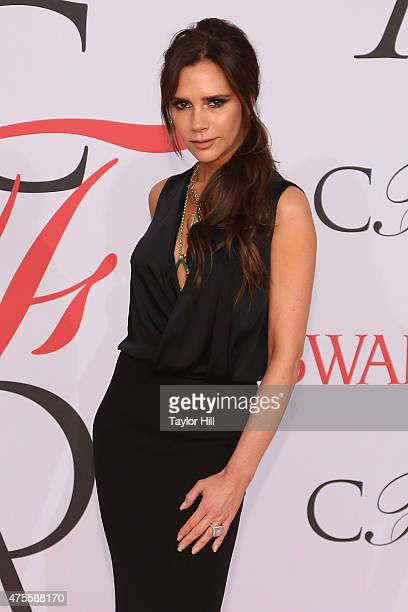 Victoria Beckham attends the 2015 CFDA Awards at Alice Tully Hall at Lincoln Center on June 1 2015 in New York City
