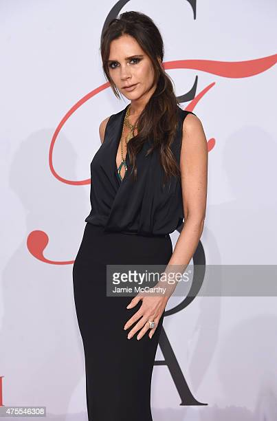 Victoria Beckham attends the 2015 CFDA Fashion Awards at Alice Tully Hall at Lincoln Center on June 1 2015 in New York City