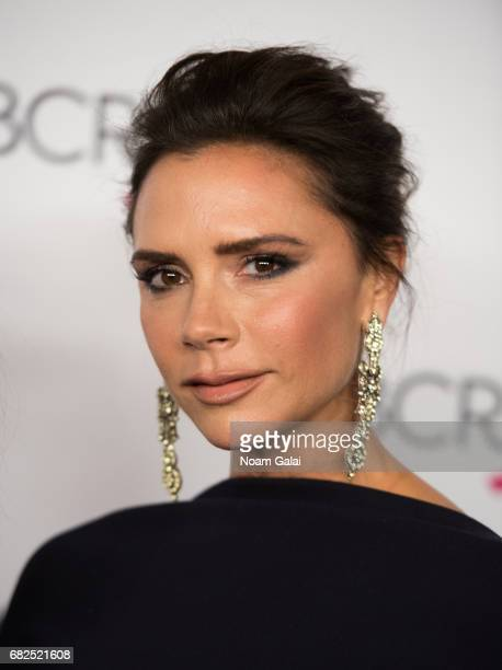 Victoria Beckham attends the 2017 Breast Cancer Research Foundation Hot Pink Party at Park Avenue Armory on May 12 2017 in New York City