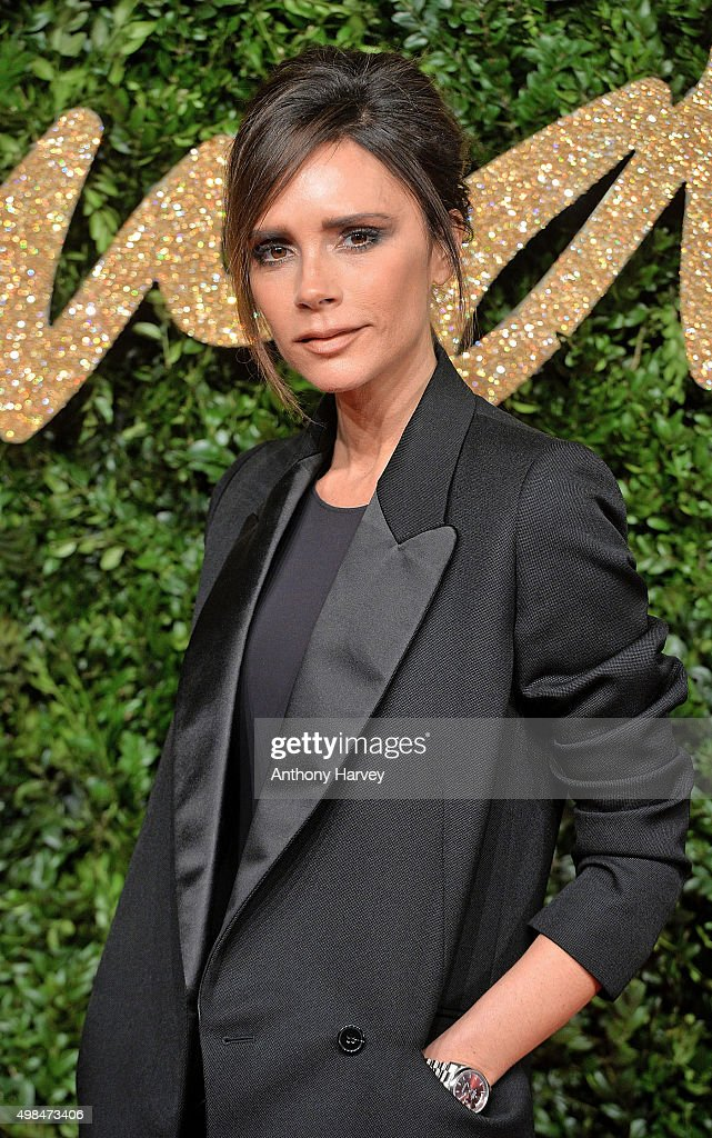 <a gi-track='captionPersonalityLinkClicked' href=/galleries/search?phrase=Victoria+Beckham&family=editorial&specificpeople=161100 ng-click='$event.stopPropagation()'>Victoria Beckham</a> attends the British Fashion Awards 2015 at London Coliseum on November 23, 2015 in London, England.