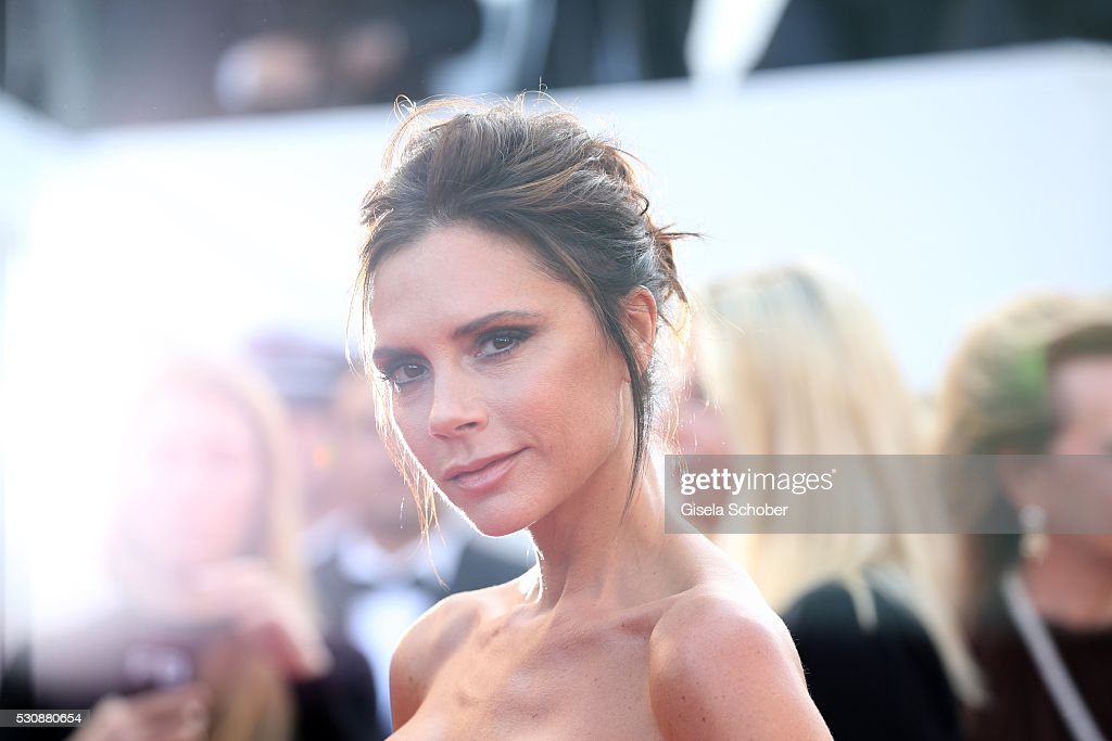 Victoria Beckham attends the 'Cafe Society' premiere and the Opening Night Gala during the 69th annual Cannes Film Festival at the Palais des Festivals on May 11, 2016 in Cannes, France.