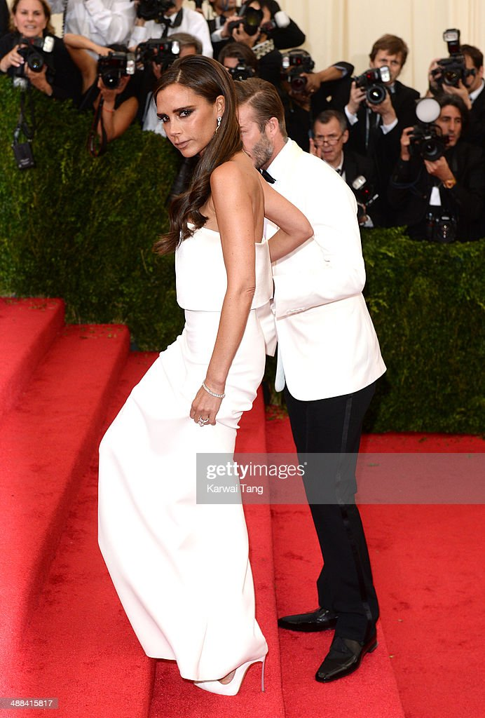 <a gi-track='captionPersonalityLinkClicked' href=/galleries/search?phrase=Victoria+Beckham&family=editorial&specificpeople=161100 ng-click='$event.stopPropagation()'>Victoria Beckham</a> attends the 'Charles James: Beyond Fashion' Costume Institute Gala held at the Metropolitan Museum of Art on May 5, 2014 in New York City.
