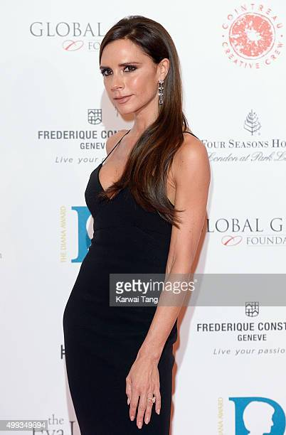 Victoria Beckham attends The Global Gift Gala at Four Seasons Hotel on November 30 2015 in London England