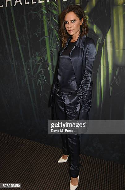 Victoria Beckham attends the Green Carpet Challenge 2016 BAFTA Night to Remember on September 18 2016 in London England