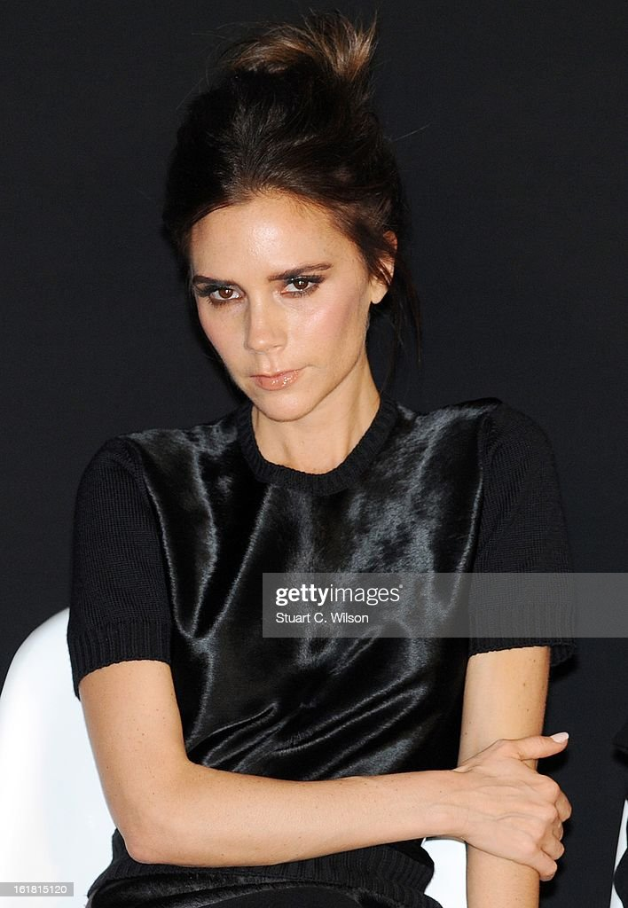 <a gi-track='captionPersonalityLinkClicked' href=/galleries/search?phrase=Victoria+Beckham&family=editorial&specificpeople=161100 ng-click='$event.stopPropagation()'>Victoria Beckham</a> attends the International Woolmark prize grand final during London Fashion Week Fall/Winter 2013/14 at ME Hotel on February 16, 2013 in London, England.