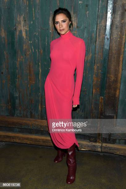 Victoria Beckham attends Vogue's Forces of Fashion Conference at Milk Studios on October 12 2017 in New York City