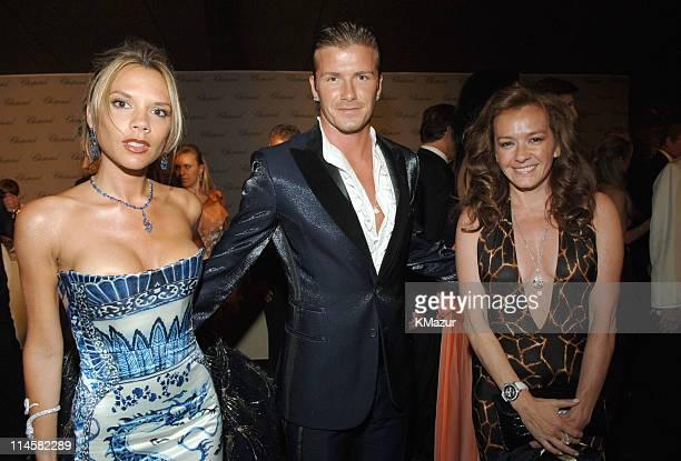 Victoria Beckham David Beckham and Caroline Gruosi Scheufele
