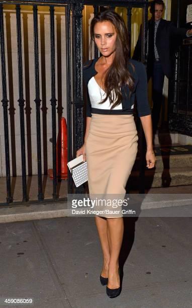 Victoria Beckham in New York on September 10 2013 in New York City