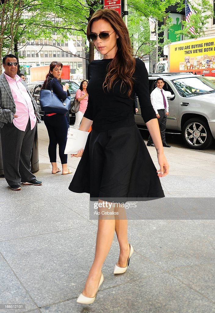 <a gi-track='captionPersonalityLinkClicked' href=/galleries/search?phrase=Victoria+Beckham&family=editorial&specificpeople=161100 ng-click='$event.stopPropagation()'>Victoria Beckham</a> is seen arriving at her hotel on May 10, 2013 in New York City.