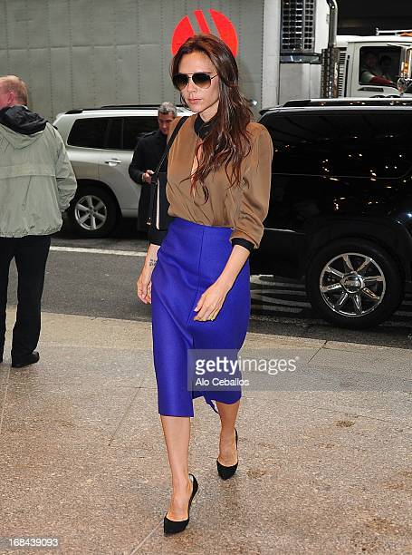 Victoria Beckham is seen arriving at her hotel on May 9 2013 in New York City