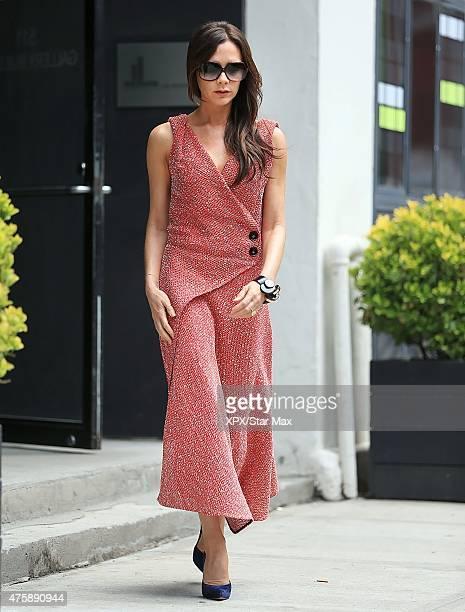 Victoria Beckham is seen on June 3 2015 in New York City