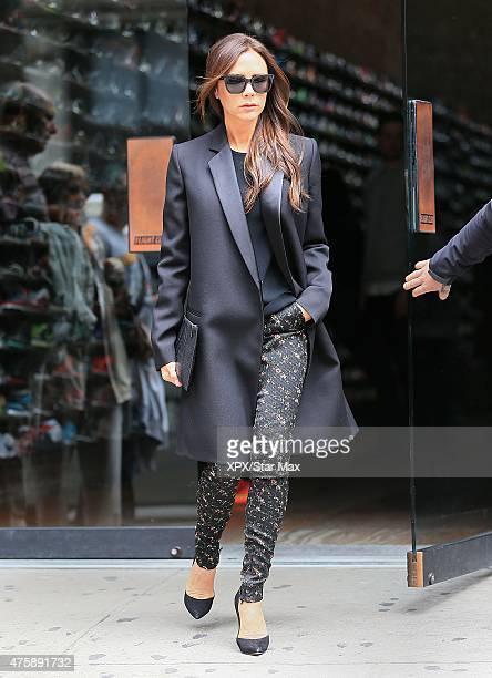 Victoria Beckham is seen on June 4 2015 in New York City