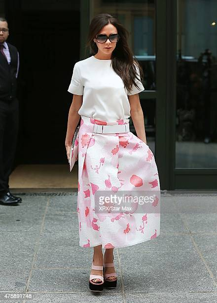 Victoria Beckham is seen on June 4 2015 in New York City