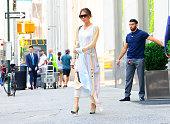 Celebrity Sightings in New York City - June 18, 2018
