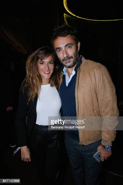 Victoria Bedos and guest attend the Reopening of the Hotel Barriere Le Fouquet's Paris decorated by Jacques Garcia at Hotel Barriere Le Fouquet's...