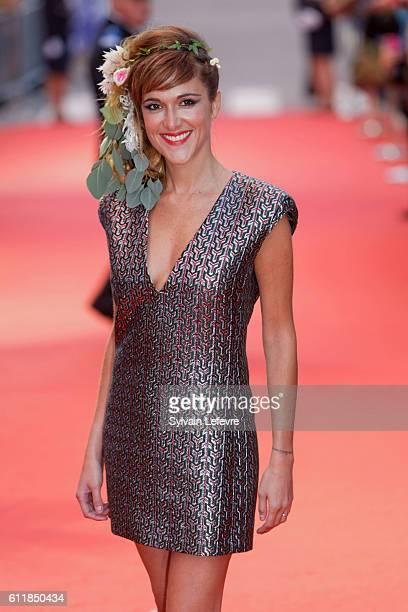 Victoria Bedos attends closing ceremony of 27th Dinard British Film Festival on October 1 2016 in Dinard France