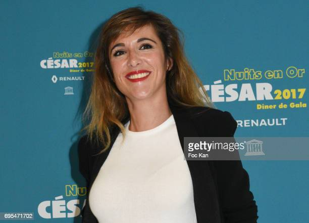 Victoria Bedos attends 'Les Nuits en Or 2017' Dinner Gala Photocall at UNESCO on June 12 2017 in Paris France