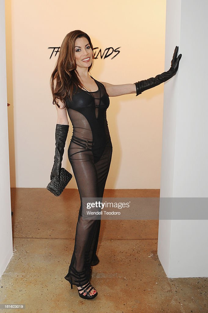 Victoria Beltram attends The Blonds during Fall 2013 MADE Fashion Week at Milk Studios on February 12, 2013 in New York City.