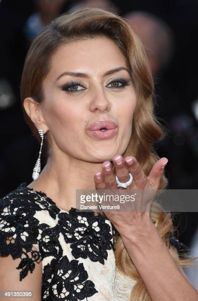 Victoria Bonia attends the 'How To Train Your Dragon 2' Premiere at the 67th Annual Cannes Film Festival on May 16 2014 in Cannes France