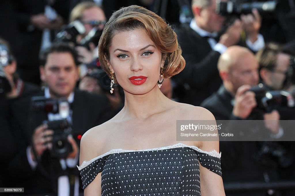 Victoria Bonya at the Closing ceremony and 'A Fistful of Dollars' screening during 67th Cannes Film Festival