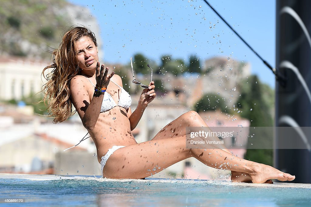 Victoria Bonya attends a portait session during the 60th Taormina Film Fest on June 19, 2014 in Taormina, Italy.