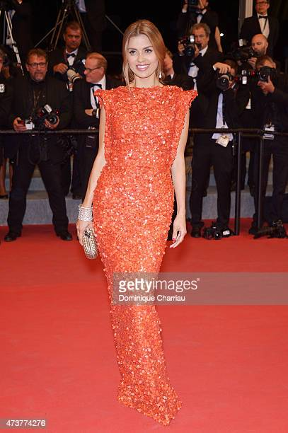 Victoria Bonya attends 'Mon Roi' Premiere during the 68th annual Cannes Film Festival on May 17 2015 in Cannes France