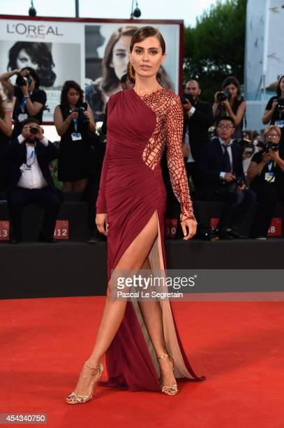 Victoria Bonya attends the '99 Homes' Premiere during the 71st Venice Film Festival on August 29 2014 in Venice Italy