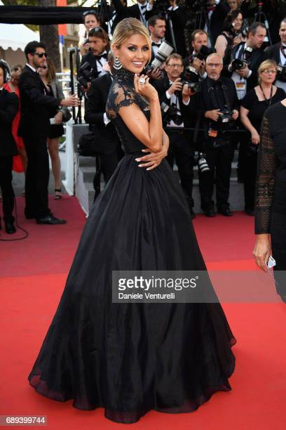 Victoria Bonya attends the Closing Ceremony during the 70th annual Cannes Film Festival at Palais des Festivals on May 28 2017 in Cannes France