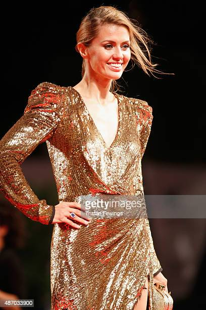 Victoria Bonya attends the premiere of 'Equals' during the 72nd Venice Film Festival at Sala Grande on September 5 2015 in Venice Italy
