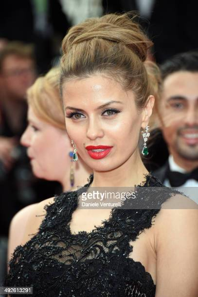 Victoria Bonya attends 'The Search' Premiere at the 67th Annual Cannes Film Festival on May 21 2014 in Cannes France