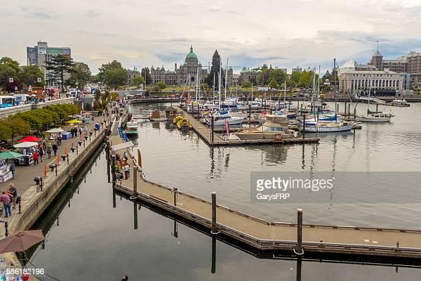 Victoria British Columbia Canada Inner Harbour British Columbia Parliament Buildings