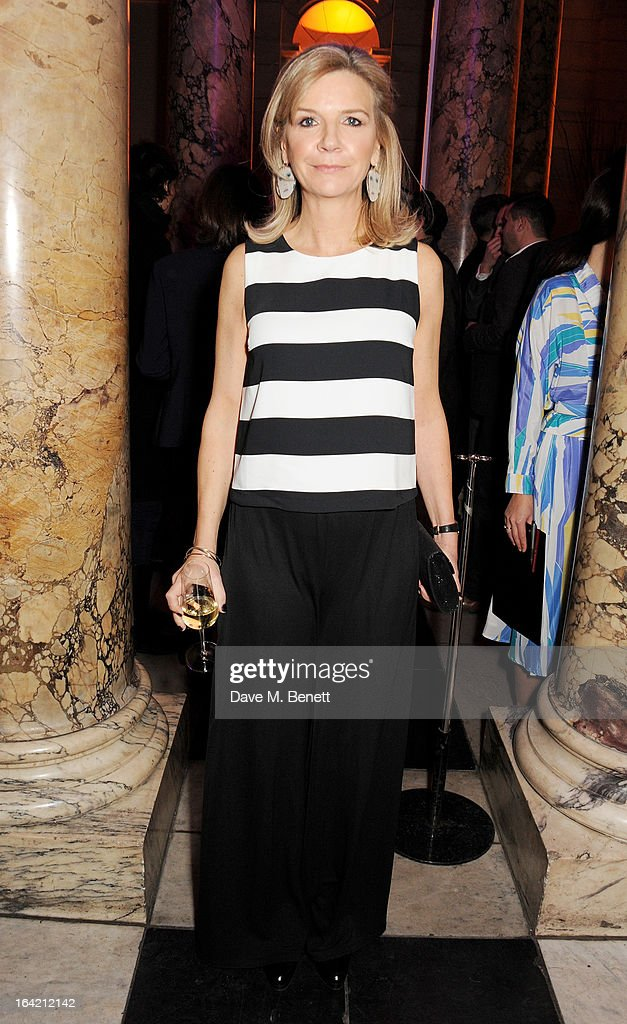 Victoria Broackes attends the private view for the 'David Bowie Is' exhibition in partnership with Gucci and Sennheiser at the Victoria and Albert Museum on March 20, 2013 in London, England.