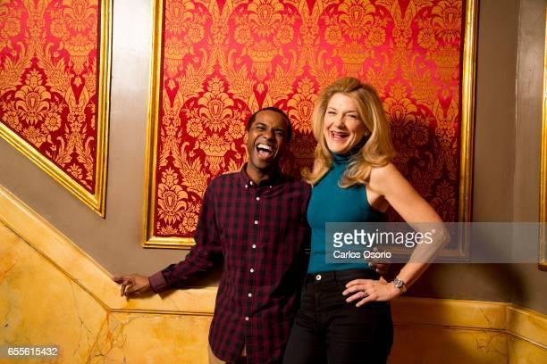 TORONTO ON FEBRUARY 24 Victoria Clark and Jordan Barrow are the stars of the new Garth Drabinsky musical Sousatzka