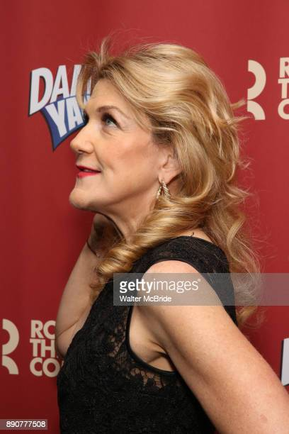 Victoria Clark attends the cast party for the Roundabout Theatre Company presents a OneNight Benefit Concert Reading of 'Damn Yankees' at the Stephen...