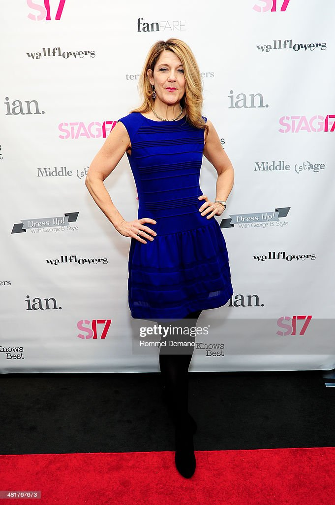 Victoria Clark attends the Stage17 Premiere at Walter Reade Theater on March 31, 2014 in New York City.