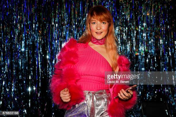 Victoria Clay attends the launch of the Skinnydip x MTV collection at Ballie Ballerson on November 20 2017 in London England