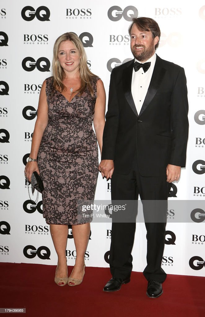 Victoria Coren and David Mitchell attend the GQ Men of the Year awards at The Royal Opera House on September 3, 2013 in London, England.