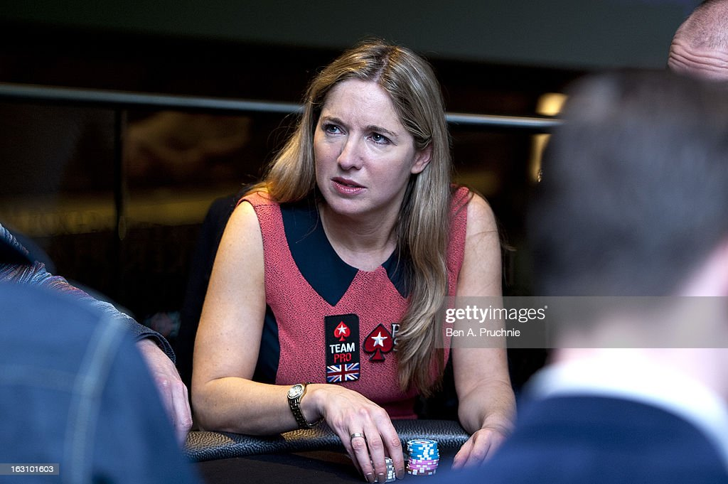 Victoria Coren attends the launch of The PokerStars LIVE Lounge at The Hippodrome Casino London on March 4, 2013 in London, England
