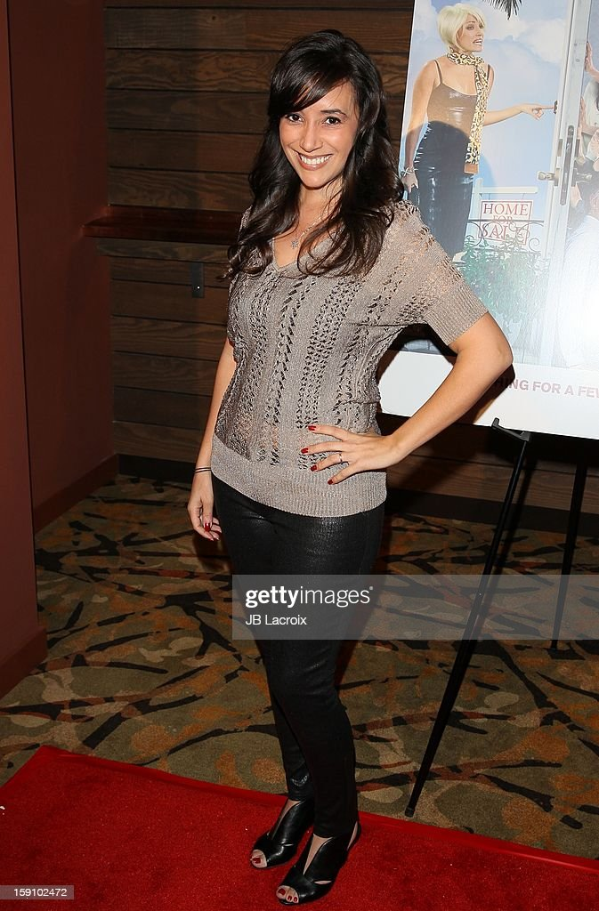 Victoria Cruz attends the 'Freeloaders' premiere held at Sundance Cinema on January 7 2013 in Los Angeles California
