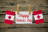 Happy Victoria Day greeting card or background. vector illustration.