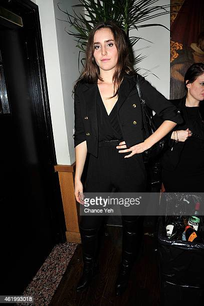 Victoria De Lesseps attends Resident Magazine's The New Year Edition Cover Launch Party With Countess Luann De Lesseps at Murals on 54 at the Warwick...