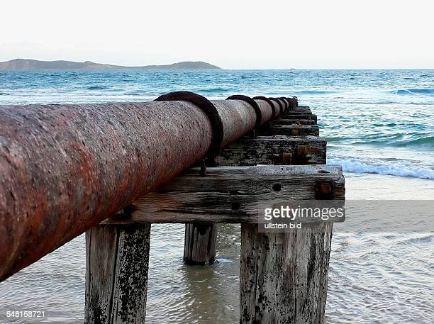 Victoria Disposal Pipeline into the Great Southern Ocean near Queenscliff