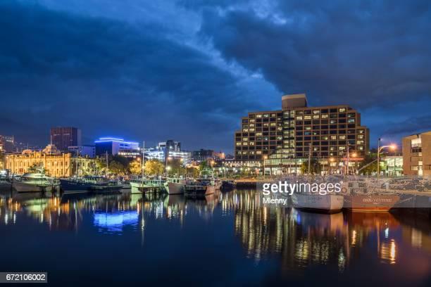 Victoria Dock Hobart City Waterfront Tasmania Australia