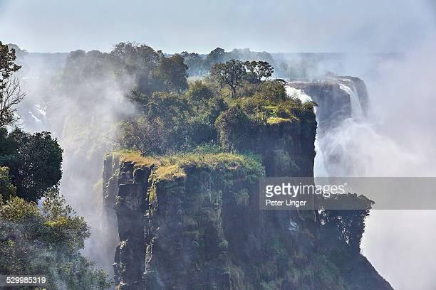 Victoria Falls close up