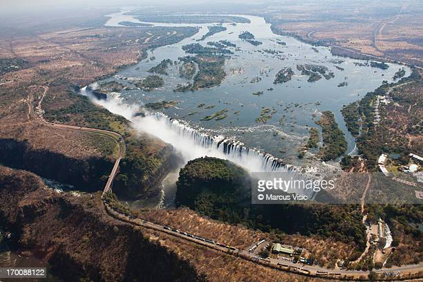 Victoria Falls from the air (Explored Jul 22 2012,