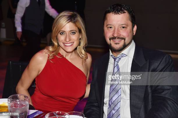 Victoria Gordon and Leonard DiNardo attend the NYSCF Gala Science Fair at Jazz at Lincoln Center on October 16 2017 in New York City