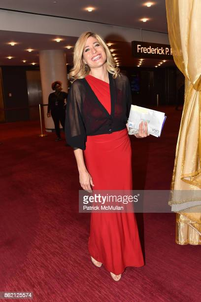 Victoria Gordon attends the NYSCF Gala Science Fair at Jazz at Lincoln Center on October 16 2017 in New York City