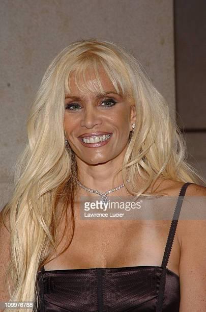 Victoria Gotti during 2005/2006 AE Television Networks UpFront at Rockefeller Center in New York City New York United States