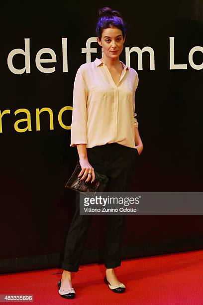 Victoria Guerra attends the Leopard Club Award 2015 red carpet on August 7 2015 in Locarno Switzerland