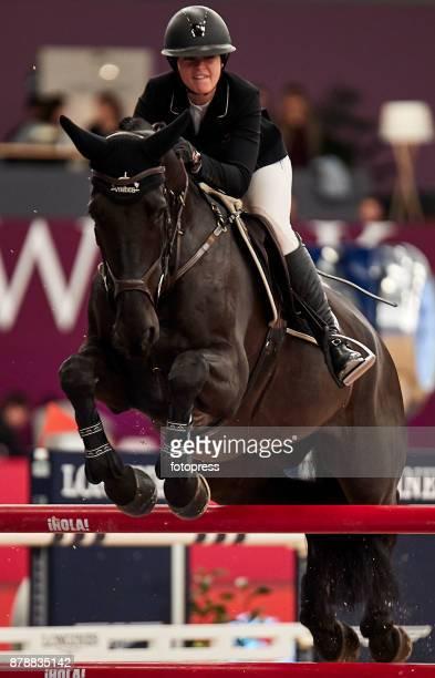 Victoria Gulliksen attends the Madrid Horse Week 2017 at IFEMA on November 24 2017 in Madrid Spain